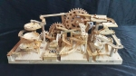 Marble Machine Triple Gears Lift