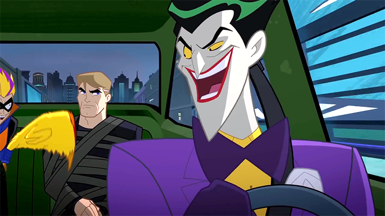 Mark Hamill's Joker and Trickster Abduct Actor Mark Hamill in 'Justice League Action' Short