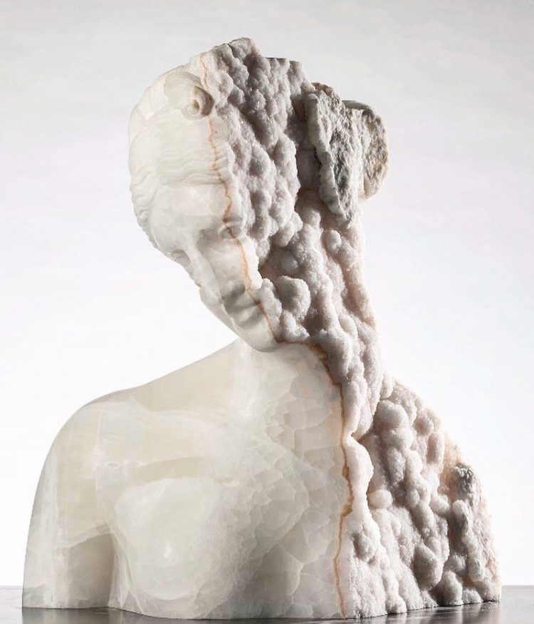 Gorgeous Greco-Roman Style Sculptures Carved Out of Quartz, Bronze and Semi-Precious Stone