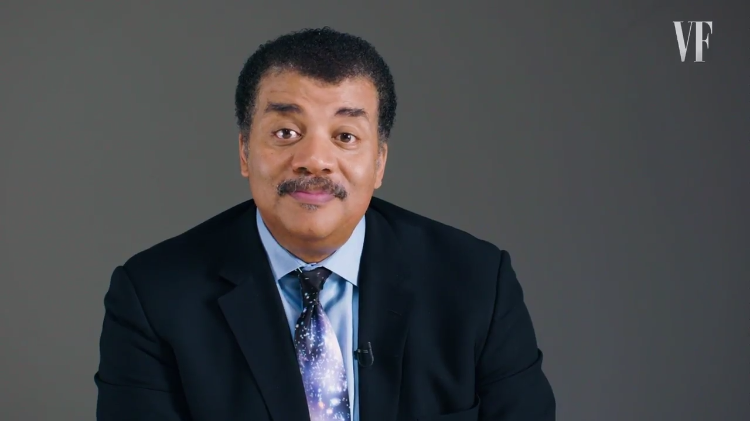 Neil deGrasse Tyson Hilariously Acts Out Interesting Facts About the Universe for Vanity Fair
