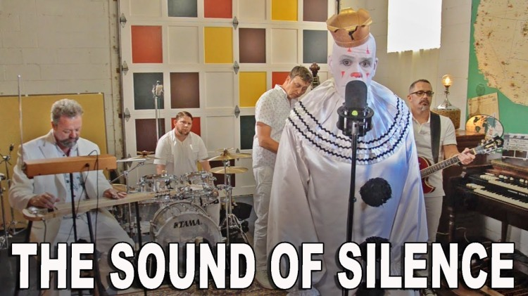 Puddles Pity Party Performs a Slightly Ominous But Very Melodic Cover of 'The Sound of Silence'