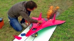 RC Airplane Equipped With Turbine Jet Engine Reaches Insane Speeds of 466 MPH