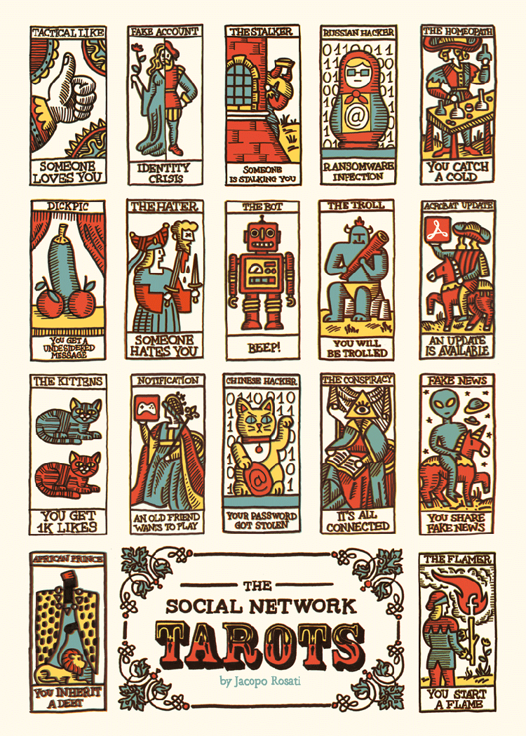 Tarto Cards: Artist Creates Illustrations Of A Modern Tarot Card Deck
