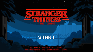 Stranger Things Gets a Free Retro Style Mobile Game Ahead of Season 2 Premiere