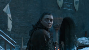 The Wolf Girl, A Thrilling Tribute to Arya Stark's Challenging Journey on Game of Thrones