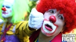 Two Clowns Face Off in an Over the Top Battle at a Kids' Birthday Party (2)