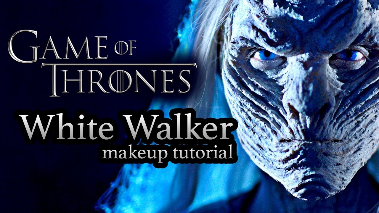 A terrifying game of thrones white walker special effects makeup a terrifying game of thrones white walker special effects makeup tutorial baditri Images