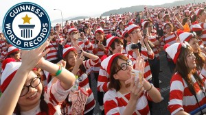 4,626 People Set Guinness World Record for the Largest Gathering of People Dressed as Waldo