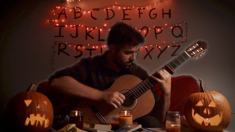 Stranger Things Classical Guitar Medley