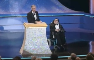 Fred Rogers and Jeff Erlanger on Stage
