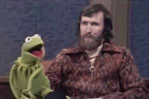Kermit and Jim Henson