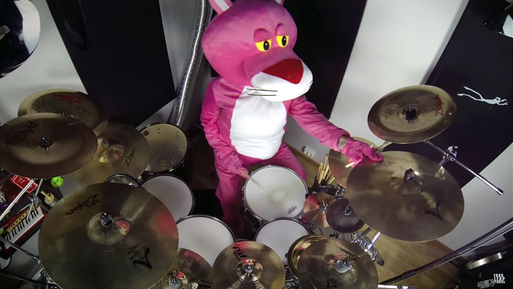 A Heavy Metal Cover of The Pink Panther Theme Song