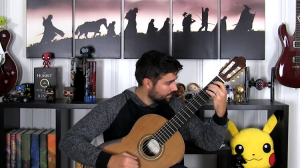 A Pleasing Classical Guitar Cover of the Super Mario Bros. Theme Song
