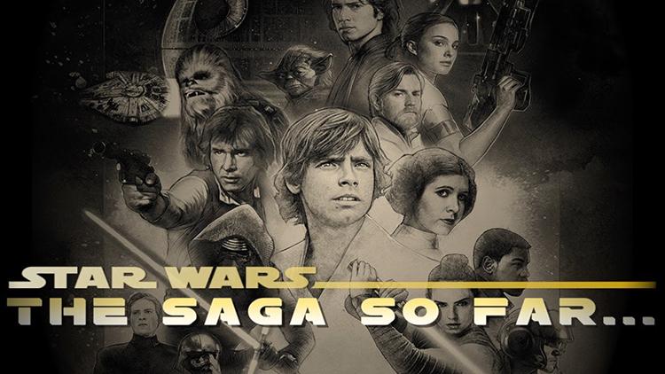 A Recap of the Star Wars Saga So Far