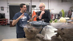 Adam Savage Tours Tom Spina's Regal Robot Shop Filled With Custom Star Wars Furniture and Art