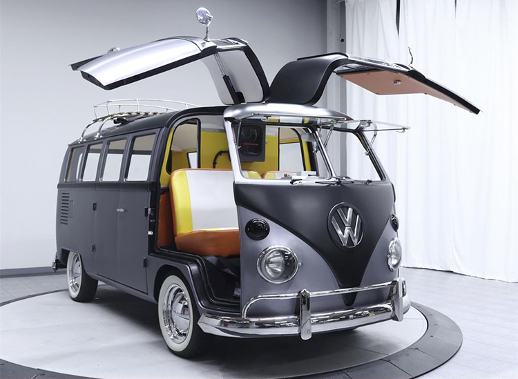 Back to the Future VW Bus (9)
