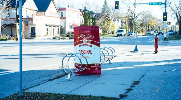 Bike Rack Vending Machine Front