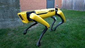 Boston Dynamics Released New and Improved Version of Their Four-Legged Doglike SpotMini Robot