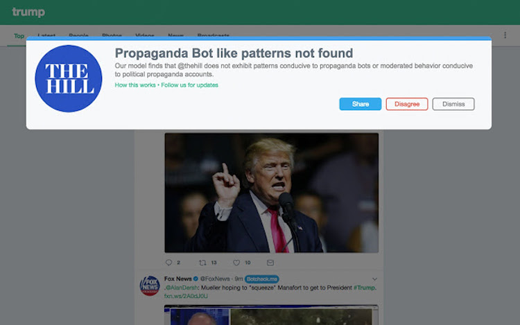 UC Berkeley Students Build a Cool Chrome Extension to Identify