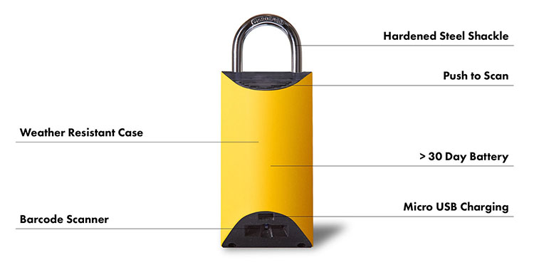 BoxLock, A Smart Padlock Designed to Protect Home Deliveries From Package Thieves