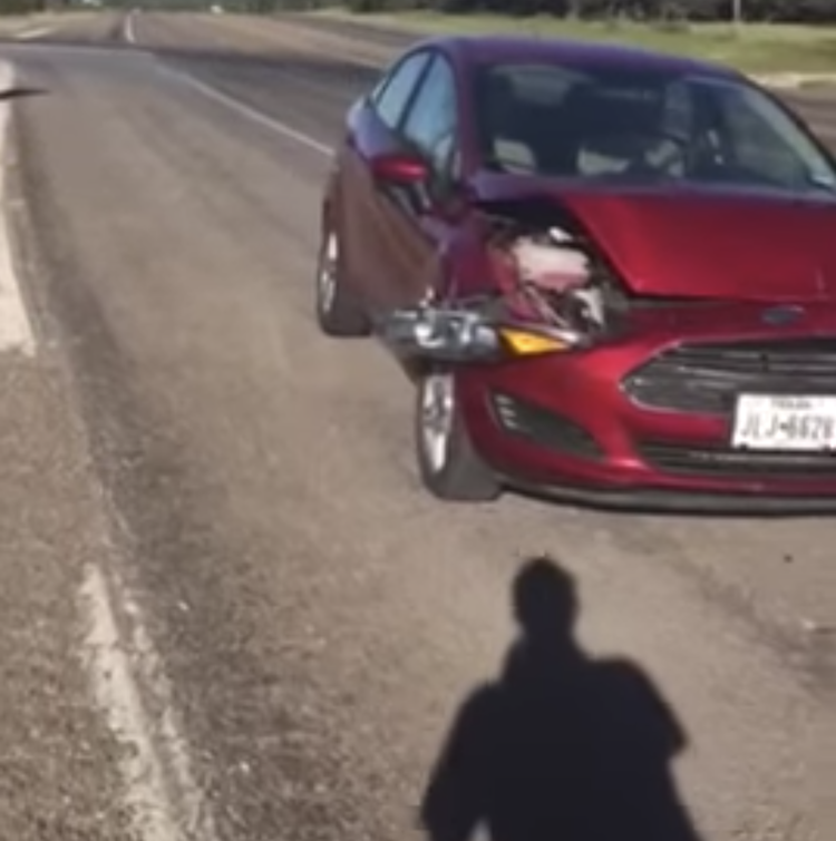 Creative Man Makes Up a Catchy Song in Rhythm With the Sound of His Car Horn After an Accident