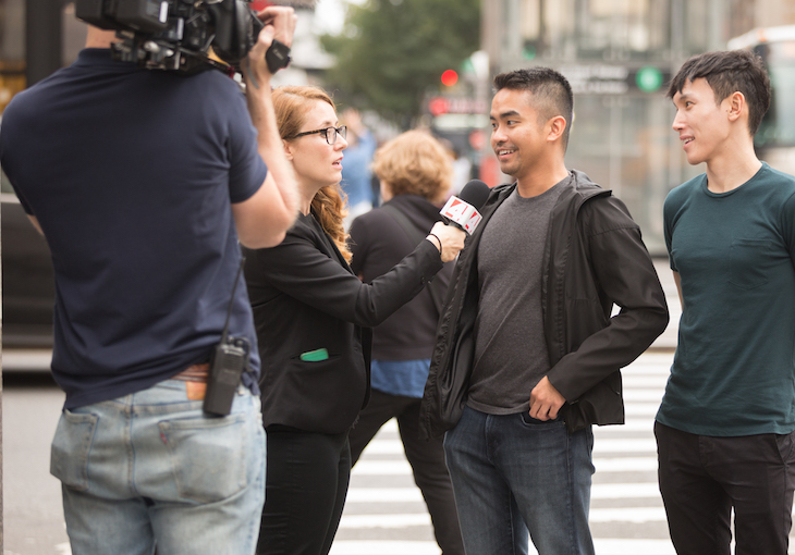 Cody as News Reporter