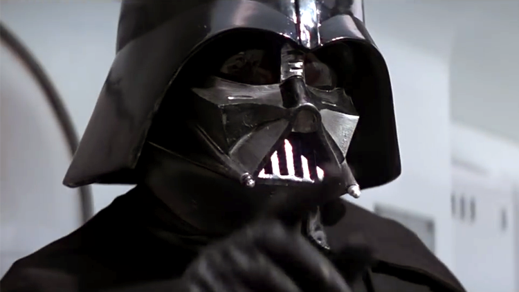 Darth Vader's Evil Voice is Replaced With the Voice of Anakin Skywalker After His Mask Malfunctions