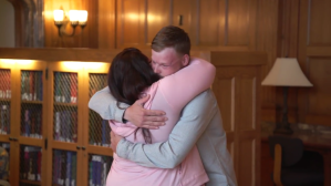 Face Transplant Recipient Meets Donor's Wife