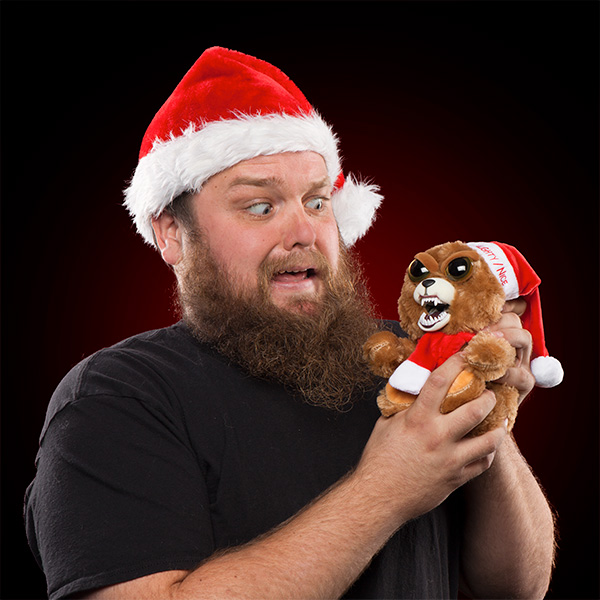Feisty Pets Christmas Bear