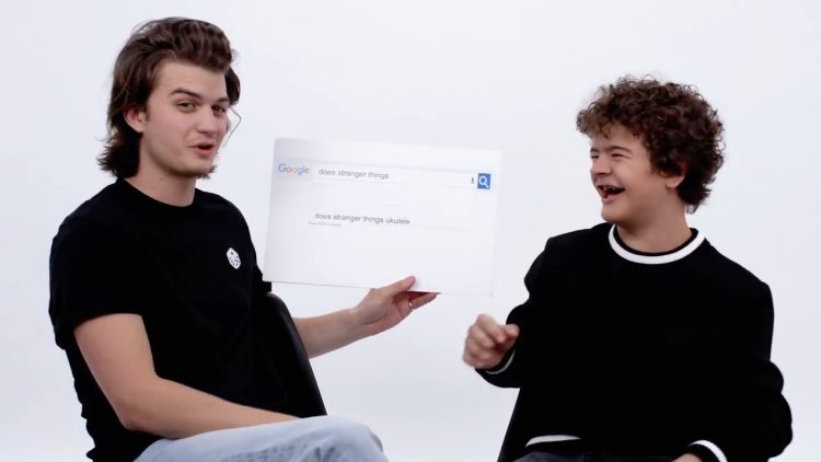 Gaten Matarazzo and Joe Keery of Stranger Things Answer the Web's Most Searched Questions