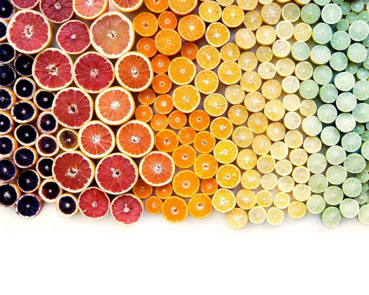 Gorgeous Displays of Fruits, Vegetables and Other Foods Arranged in Visually Pleasing Color Order