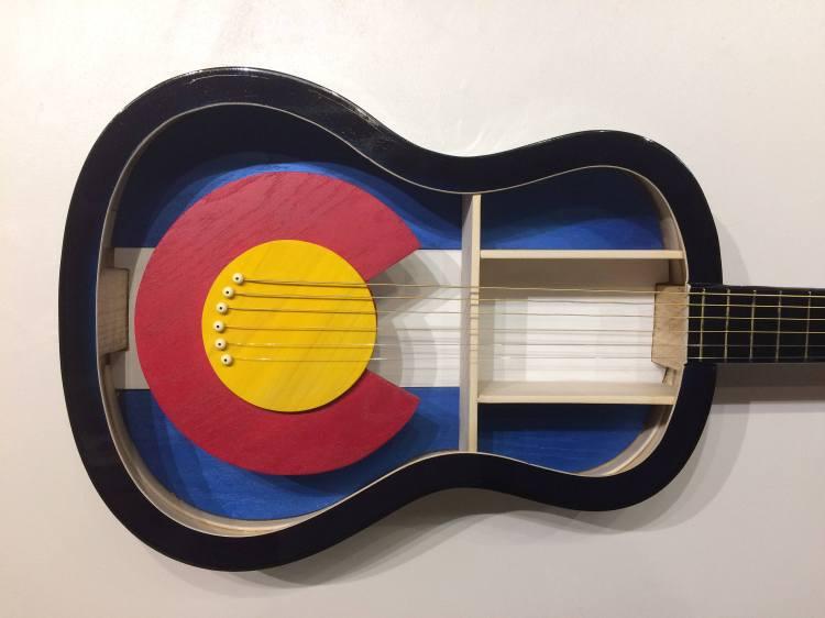 Guitar Shelf Colorado