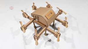 How to Make a Quadcopter Drone Out of Cardboard