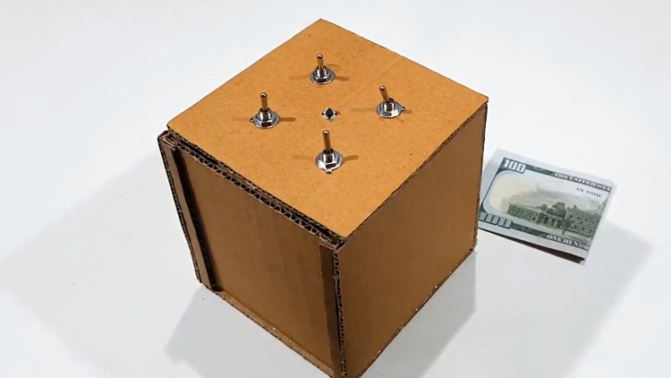 How to Make an Electronic Puzzle Box That Jumps When Unlocked
