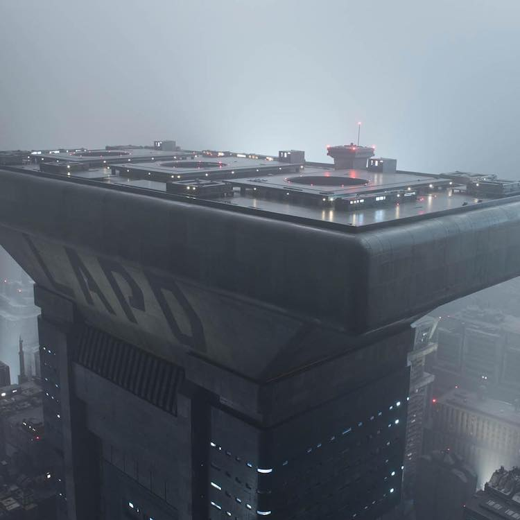 A Stunning Look at the Massive 'Blade Runner 2049' Miniatures Built by Weta Workshop