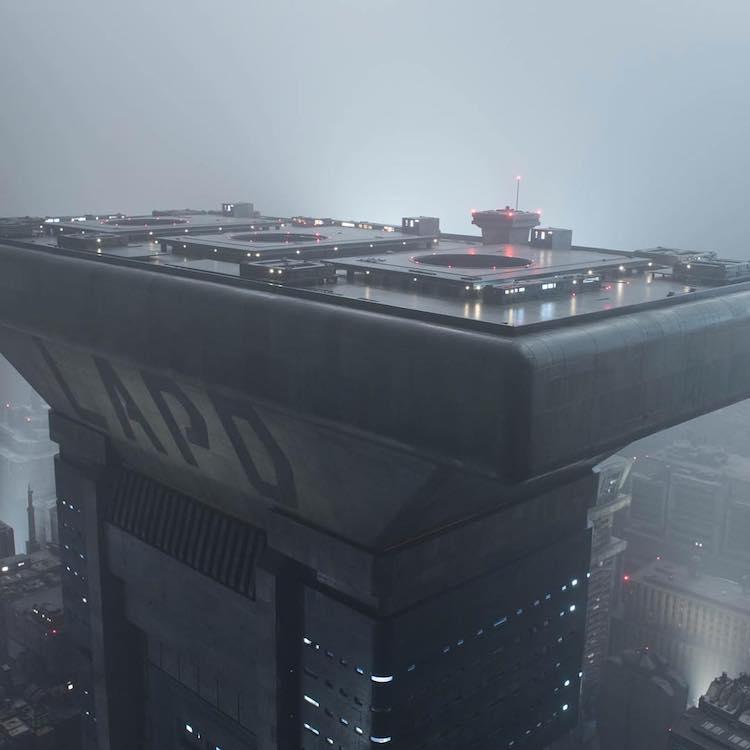 LAPD Blade Runner 2049