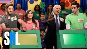 Larry David Reprises Bernie Sanders Role for 'The Price Is Right Celebrity Edition' Sketch on 'SNL'