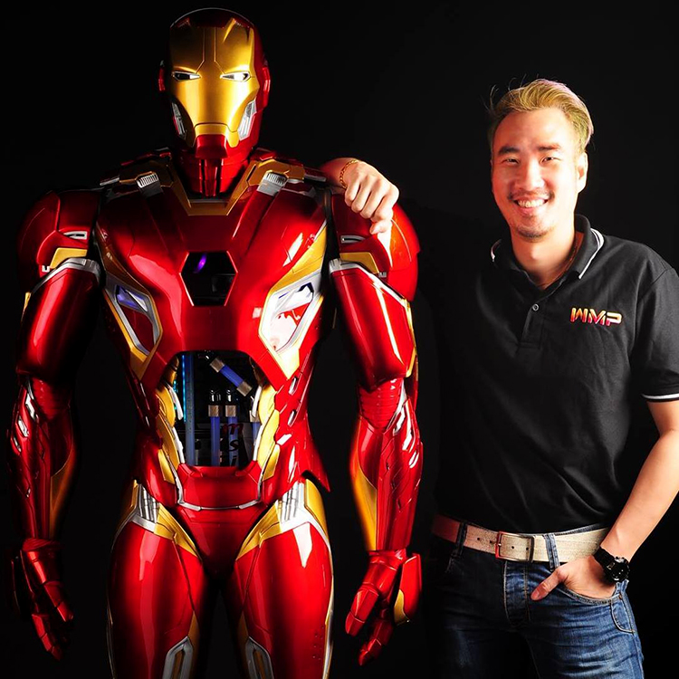 Case Modder Builds Life-Size Set of Iron Man Mk. 45 Armor That Contains a Working Custom PC