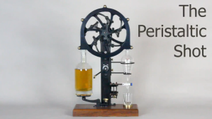 Mechanical Peristaltic Precision Shot Pouring Device