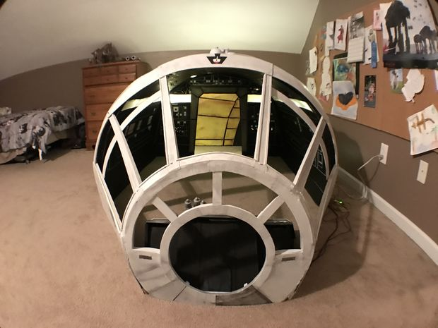Millennium Falcon Playhouse