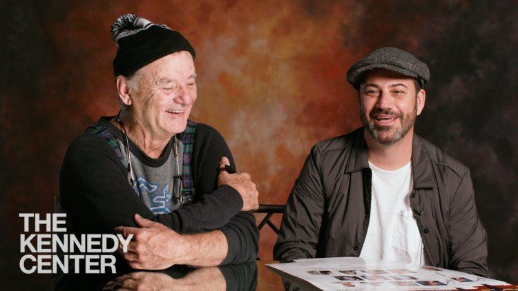 Bill Murray Jimmy Kimmel Letterman