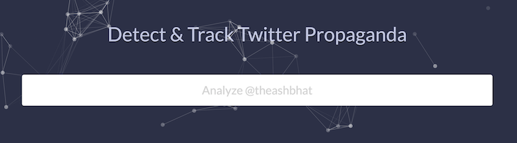 Detect and Track Twitter Propaganda