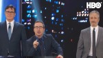 Stephen Colbert and John Oliver Interrupt Jon Stewart