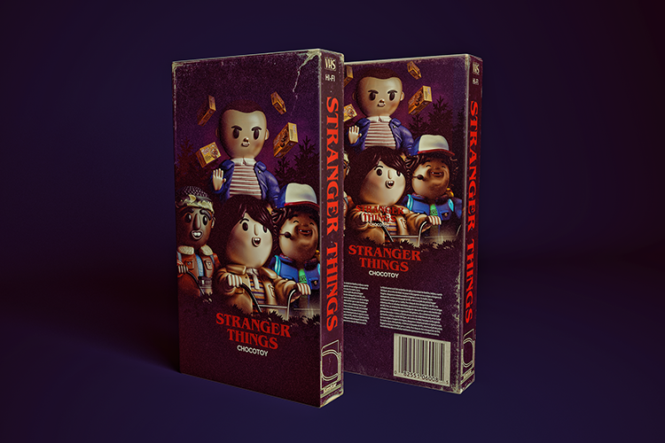 Stranger Things Kids as Toys