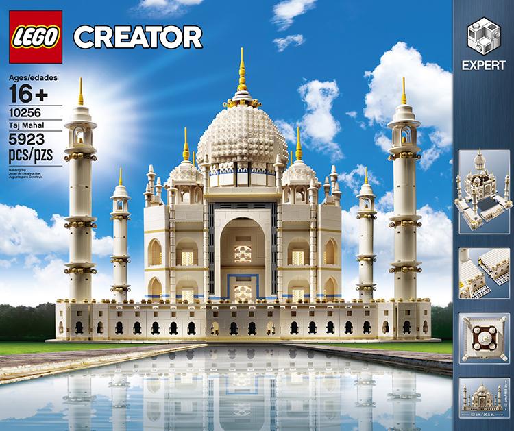 Lego Unveils A Fantastic 5923 Piece Taj Mahal Set