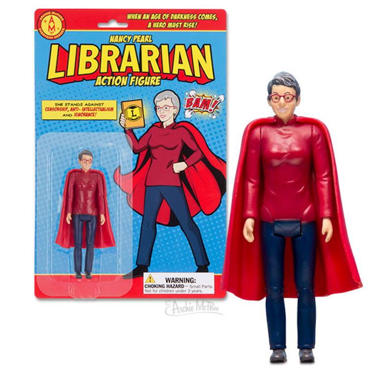 The LIbrarian Action Figure