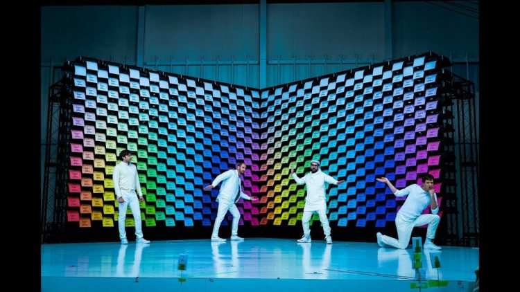 Obsession,  A Mesmerizing Music Video by OK Go Featuring Colorful Paper Coming Out 567 Printers