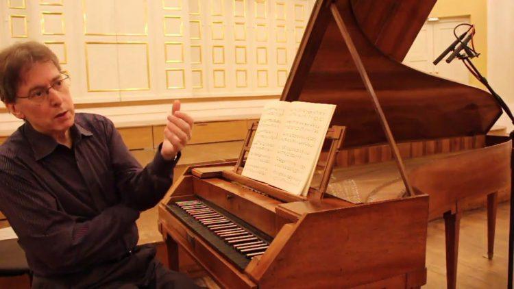 Renowned Musicologist Performs a Beautiful Mozart Sonata on Mozart's Own Fortepiano