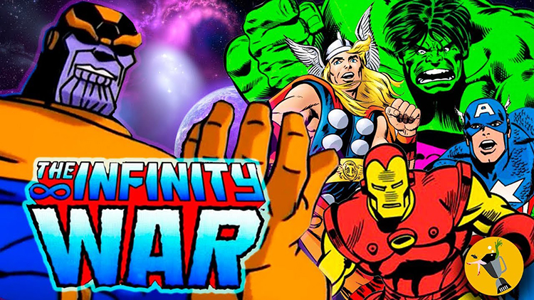 A 1990s Animated Version of the Avengers: Infinity War Trailer