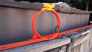 A Hot Wheels and a 3D Printed Camera Car Speed Through an Incredible Backyard Race Track